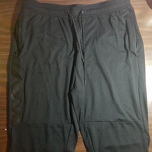 AE XL Flex black light fleece jogger pants